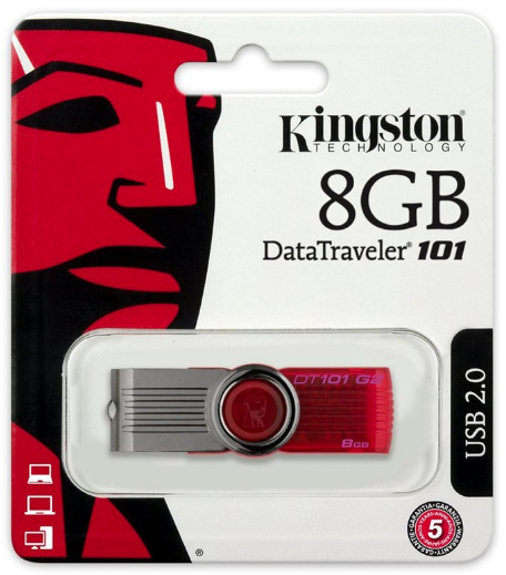USB 8GB Kingston Data Traveler